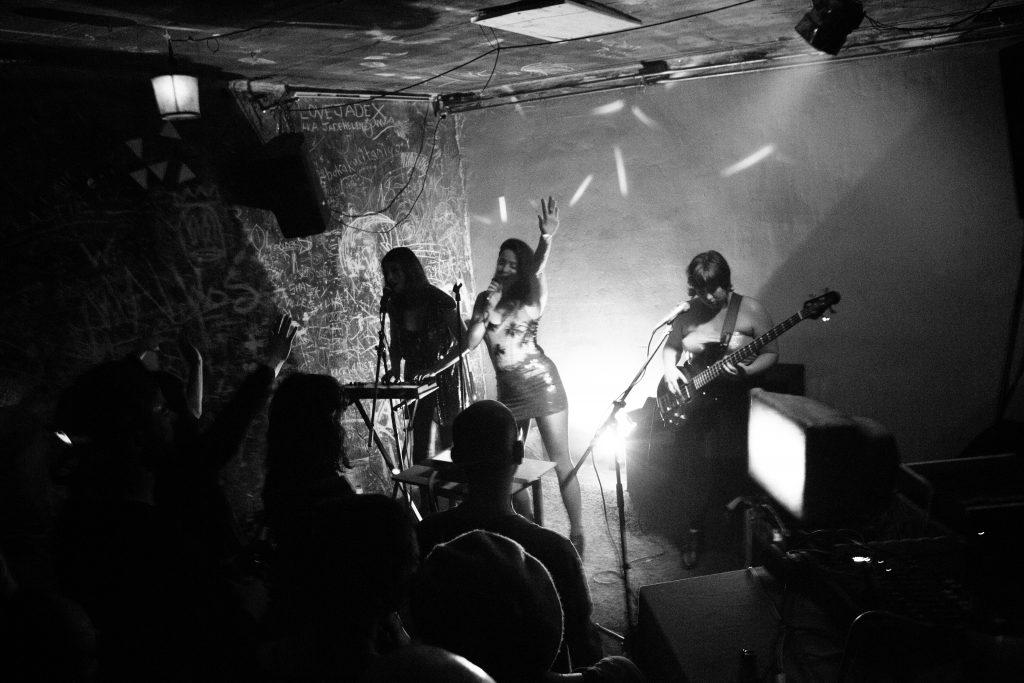Laisse-Moi live / photo by Jacob Hopkins